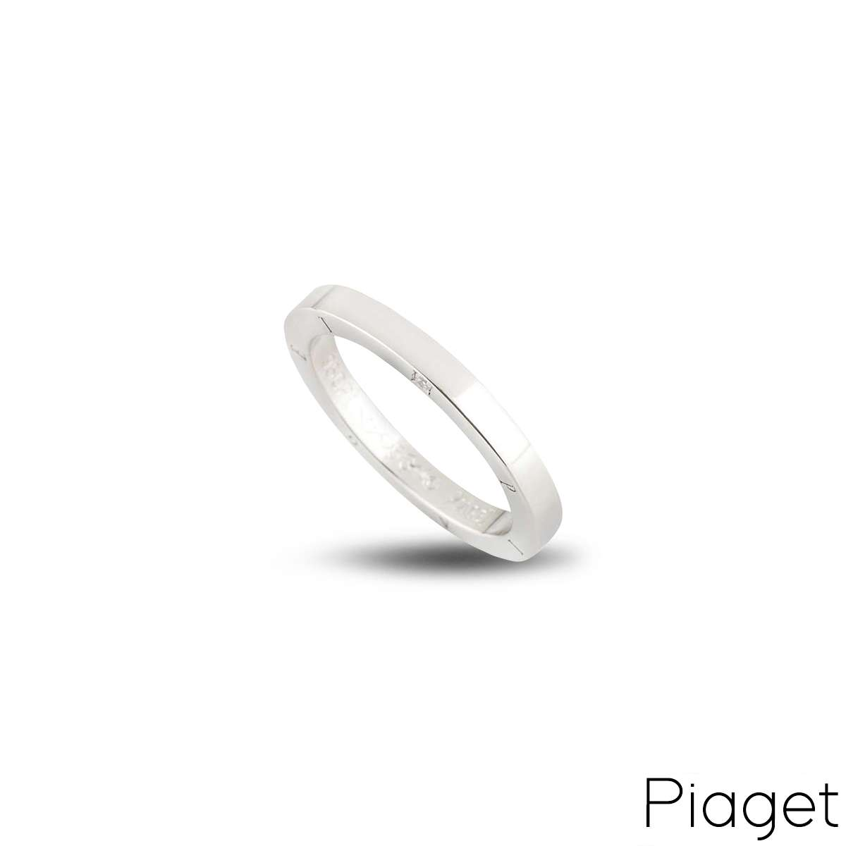 Piaget Diamond Set Wedding Band in Platinum?